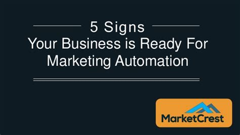 5 signs you are ready to enroll in an online mba program 5 signs you are ready for marketing automation