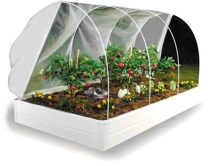 unavailable greenhouse cover system   raised bed