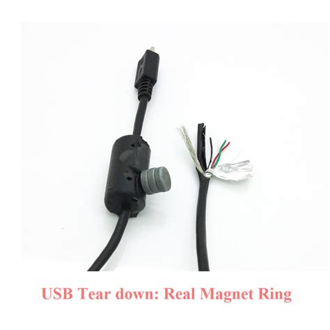 high quality usb high quality micro usb 2 0 cable with magnet ring