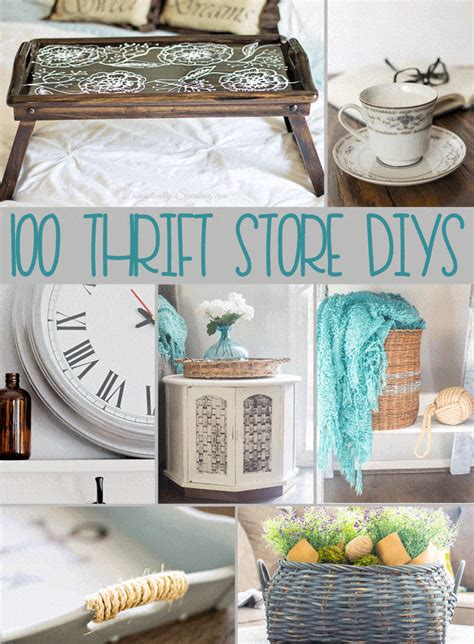 diy projects 100 thrift store diy projects domestically speaking