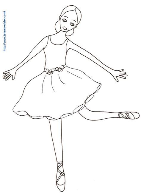 Coloriage Danseuse Ballerine Dessin De Danse Classique A Imprimer L