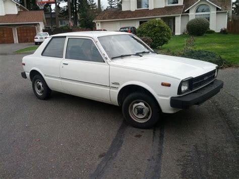 1980 Toyota Tercel Sell Used 1980 Toyota Corolla Tercel 2 Door Coupe Low