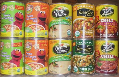 What Is The Shelf Of Canned Soup by Found At Fred Meyer 1 Organic Canned Soup
