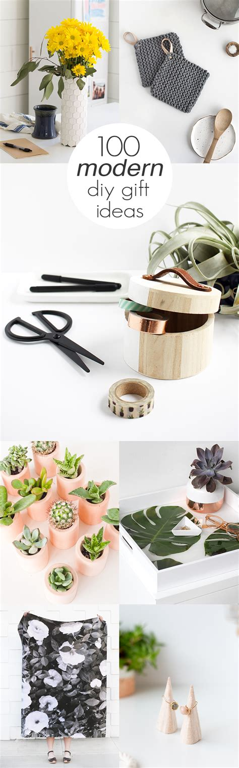 diy gifts 100 modern diy gift ideas idle awake
