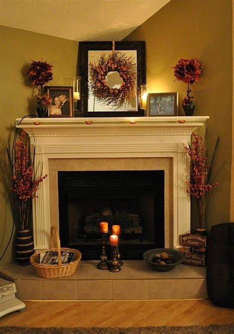 fireplaces and fixins mantle fall decorations by fall decorations posts mantles and the o jays
