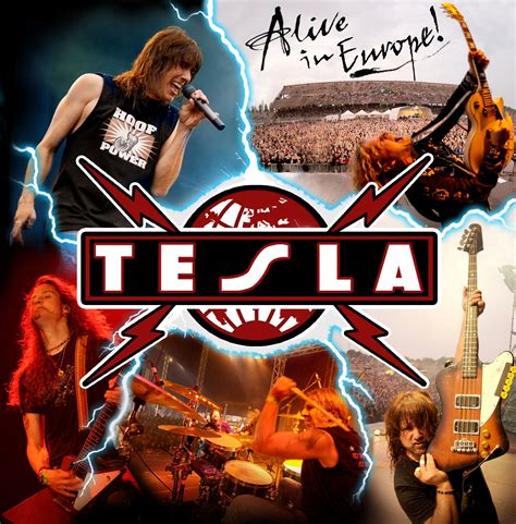 tesla band albums tesla s alive in europe coming in april rock hideout