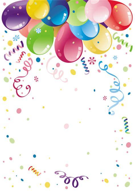 hermosas globos de colores 02 vectoriales descarga