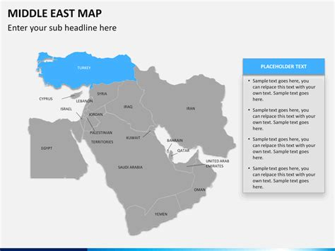 middle east map for powerpoint middle east map powerpoint sketchbubble