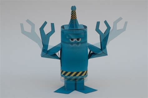 How To Make A Paper Robot For - how to make an animated paper robot