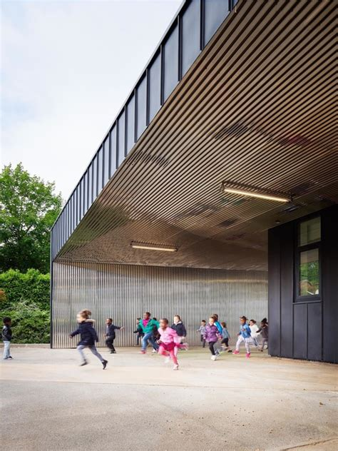 extension architecture nursery school extension graal architecture archdaily