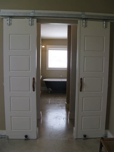 Interior Barn Doors Black Interior How To Install Barn Doors Inside