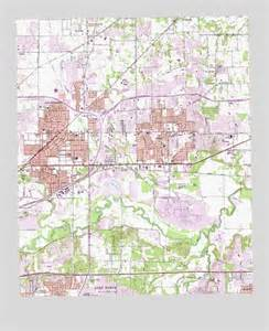 hurst tx topographic map topoquest