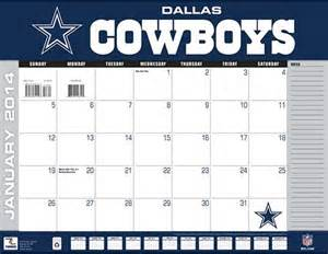 Dallas Cowboys Calendar Dallas Cowboys Calendar The Boys Are Back