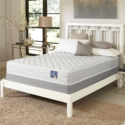 mattress and bed set serta gleam firm full size mattress set ebay