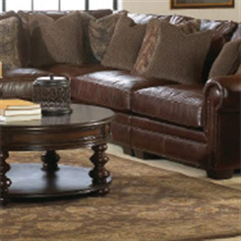 bernhardt grandview sectional living room leather furniture