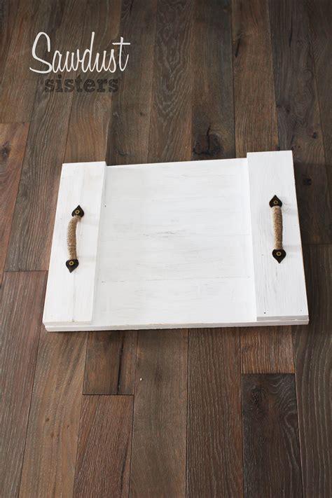 diy holz easy diy wood serving tray farmhouse style sawdust