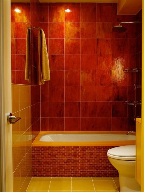 red wall bathroom 34 red bathroom wall tiles ideas and pictures