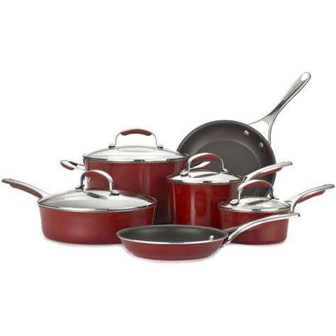 Kitchenaid 10 Cookware Set by Kitchenaid Gourmet Aluminium Nonstick 10 Cookware