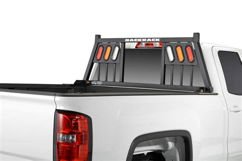 back rack light bar three light rack backrack with lights truck accessories