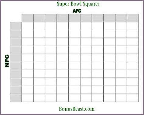 super bowl 50 squares template proposalsleletter com
