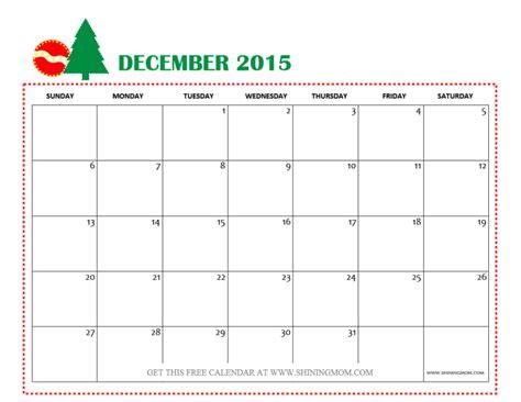December 2015 Calendar December 2015 Themed Calendar Calendar Template 2016