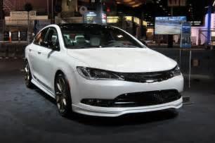Mopar Chrysler Mopar Modifies 2015 Chrysler 200 At 2014 Chicago Auto Show