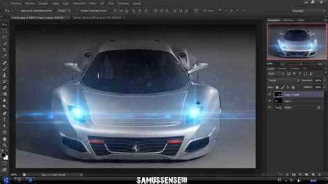 Car Lighting Effects Photoshop How To Create Car Lights In Photoshop Cs6
