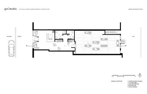 yoga studio floor plan gallery of ritual house of yoga gocstudio 14