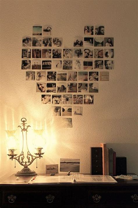home decor photography polaroid love photo wall ideas