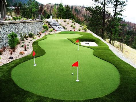 backyard greens best 25 backyard putting green ideas on pinterest golf