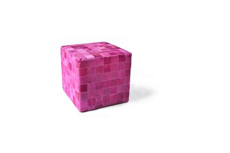 cowhide cube pouf patchwork mosaic 28 images cowhide
