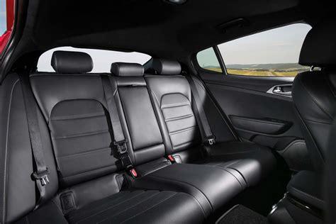 kia stinger gt rear interior seats motortrend