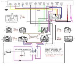 antenna relay wiring harness diagram 1997 supra turbo binatani