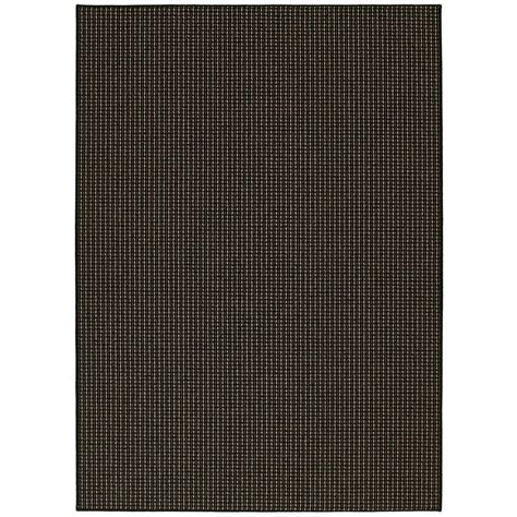garland rug berber colorations black 5 ft x 7 ft area