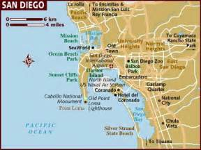Map San Diego by Map Of San Diego