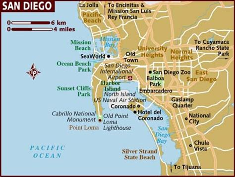 maps san diego map of san diego