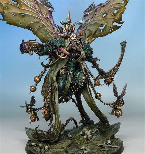 professional painting workshop miniatures mortarion primarch of nurgle fantasygames pl