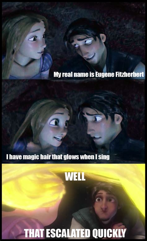 Tangled Meme - the gallery for gt flynn rider and rapunzel fan art