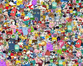 cartoon collage wallpaper download cartoon hd wallpaper appraw