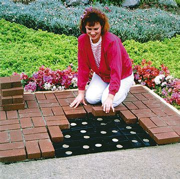 Patio Pal Brick Patio System by Patio Pals Templates Honey Dews