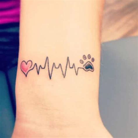 heartbeat stop tattoo 55 memorable and intriguing heartbeat tattoo ideas