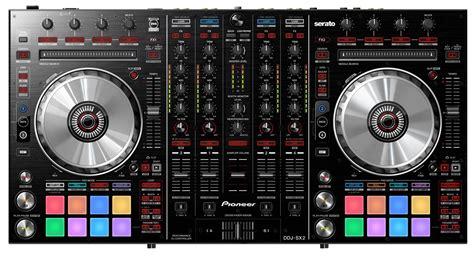 dj decks pioneer pioneer ddj sx2 serato flip 4 deck dj controller pssl