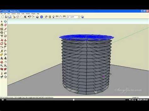 tutorial sketchup dasar tutorial dasar google sketchup 12 tangga spiral putar