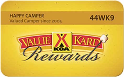 Where To Buy Koa Gift Cards - cing discount card save 10 value kard rewards