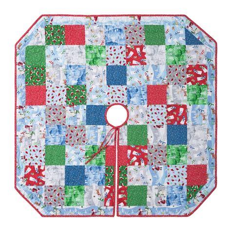 msqc santa s little helpers christmas tree skirt kit