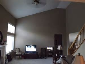 decorating a large wall with a slanted ceiling how to