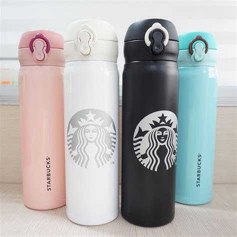 Starbucks Termos Kopi Botol Termos Vakum Stainless Steel Cangkir Iso thermos starbucks reviews shopping thermos