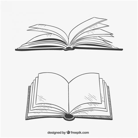 book sketch your world opened books in style vector free