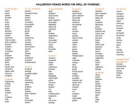 Halloween Themed Words | 10 best images about halloween on pinterest cut and