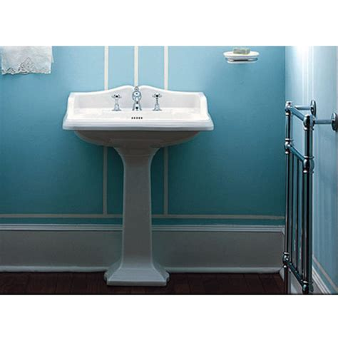 Pedestal Sink Dimensions Isabella Collection Large Traditional Rectangular Pedestal